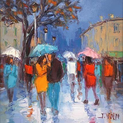 Jacques Volpi Jour de pluie 25 x 25 cm