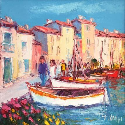Jacques Volpi Port de Martigues 25 x 25 cm