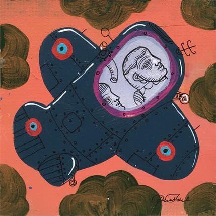 Pawel Krol Plane D1 13 x 13 cm