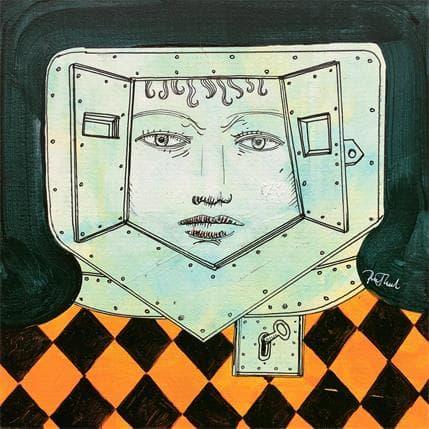 Pawel Krol Tin head 6 19 x 19 cm