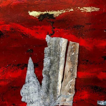 François-Régis Lemonnier La pleine conscience c'est être libre  N.2005 50 x 50 cm