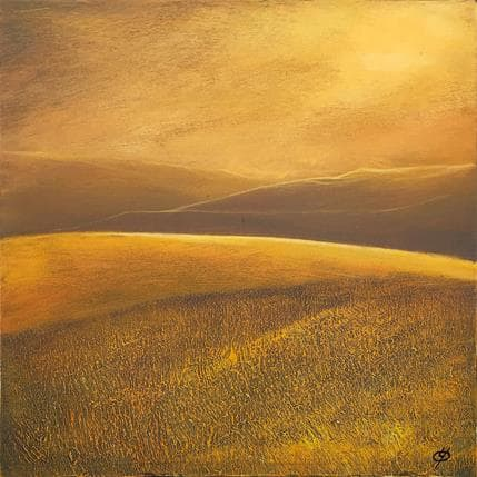 Yves Ogier L'or des nuits 25 x 25 cm