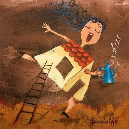 Cecilia Gandolfo Alegria del hogar 19 x 19 cm