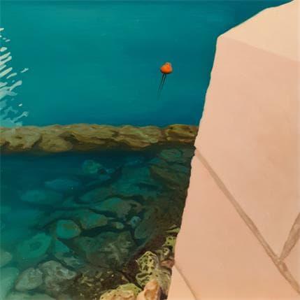 Julie Argall Marseille, le bassin J4 36 x 36 cm