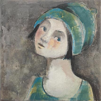Valérie Anceaume Gutierrez Joli chapeau 25 x 25 cm