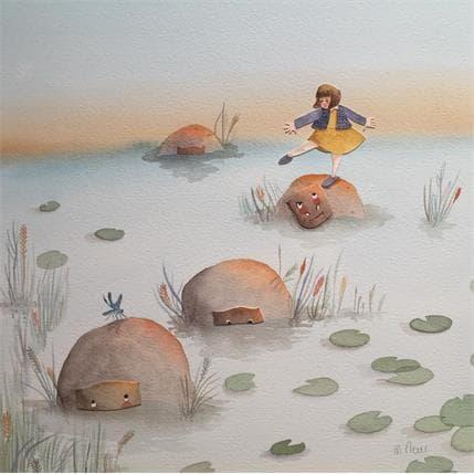 Marjoline Fleur Capucine et les hippopotames 36 x 36 cm