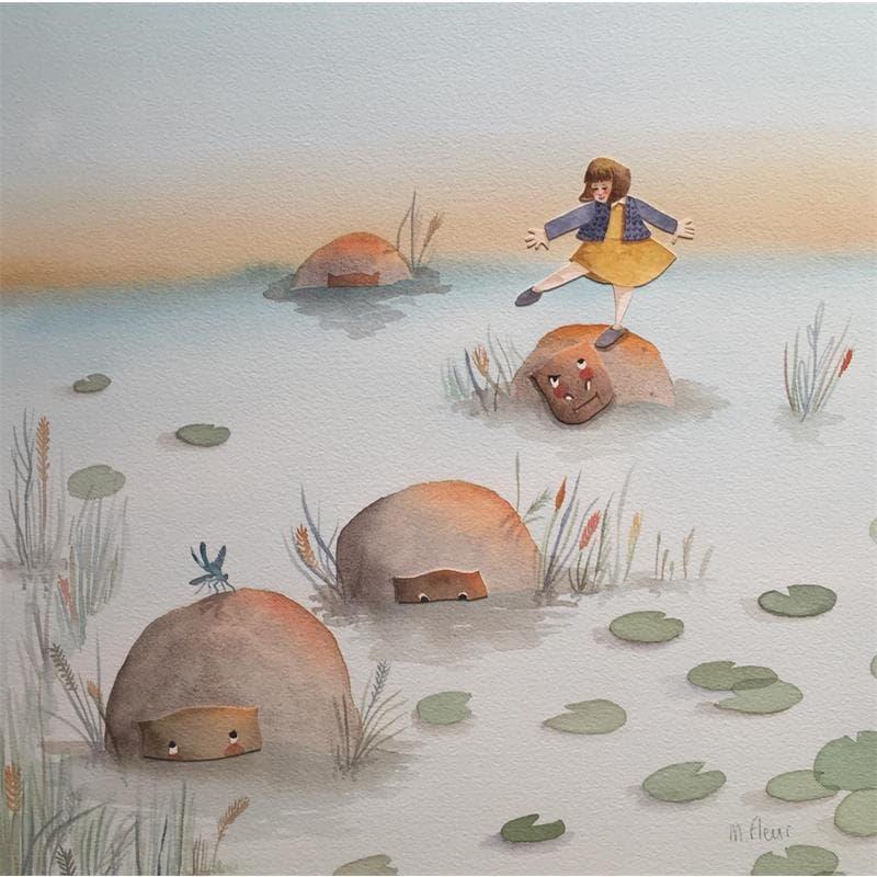 Capucine et les hippopotames