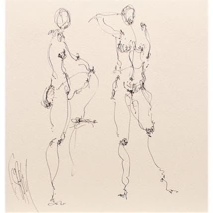 François Sahuc Sonia 25 x 25 cm