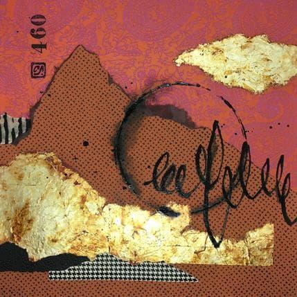 Catherine Simoneau Pestel La côte de corail 36 x 36 cm