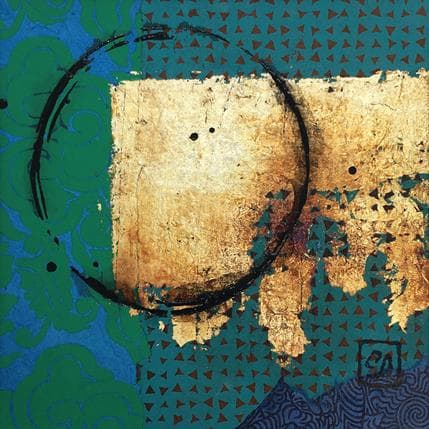 Catherine Simoneau Pestel Message d'espoir 13 x 13 cm