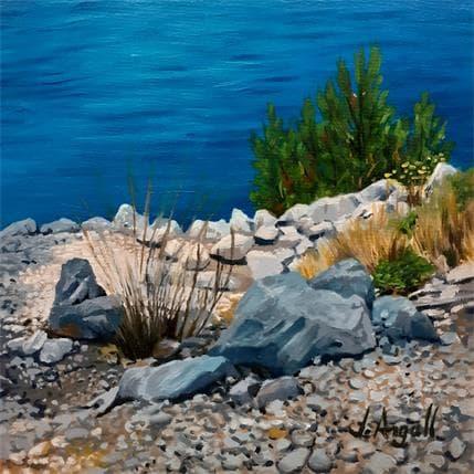 Julie Argall Sur le chemin de Port Pin 13 x 13 cm