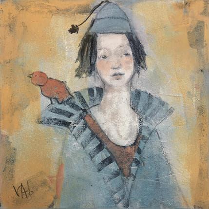 Valérie Anceaume Gutierrez Carnaval 1 25 x 25 cm