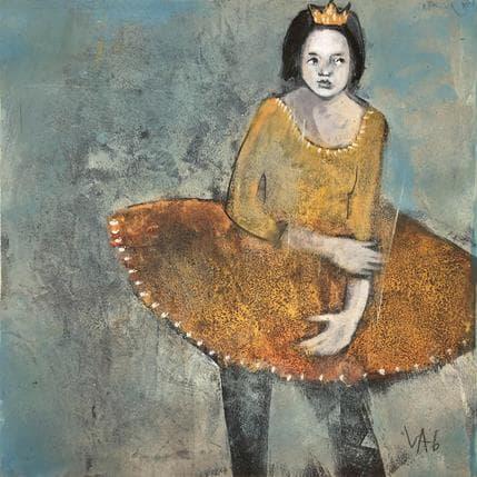 Valérie Anceaume Gutierrez Y aller ou pas 36 x 36 cm