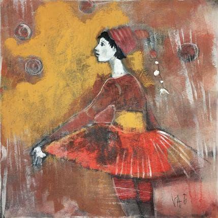 Valérie Anceaume Gutierrez Lumière du cirque 36 x 36 cm