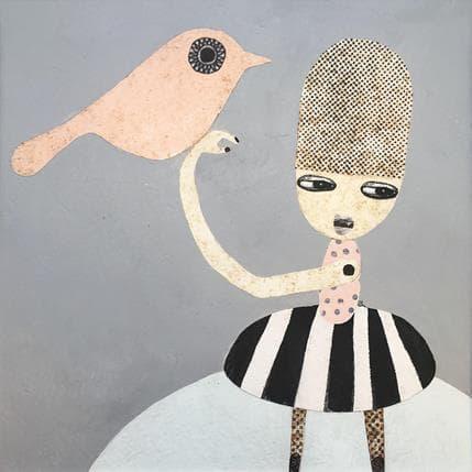 Suzanne Lastrina Bird song 25 x 25 cm