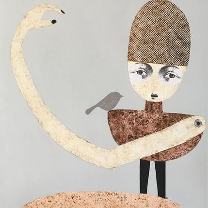 Suzanne Lastrina I need a hand to hold 36 x 36 cm