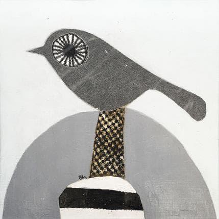 Suzanne Lastrina Bird 13 x 13 cm