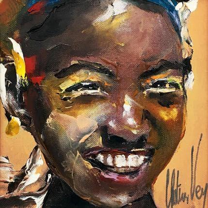 Christian Vey Sourire d'Afrique 13 x 13 cm
