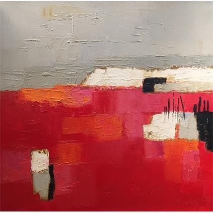Shelley Grenadine 70 x 70 cm