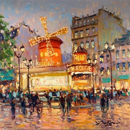 Vadim Dolgov Moulin Rouge 25 x 25 cm