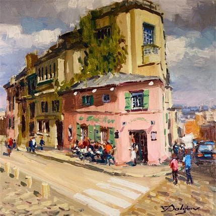 Vadim Dolgov La Maison Rose 25 x 25 cm