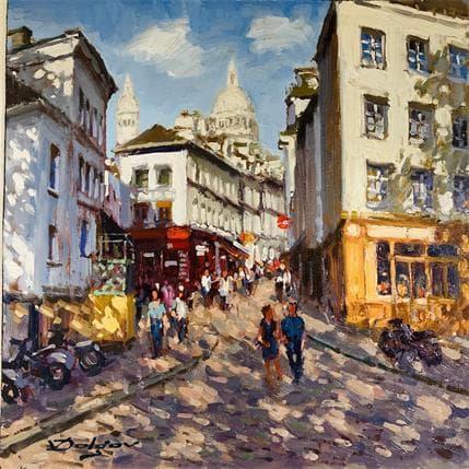 Vadim Dolgov Montmartre 25 x 25 cm