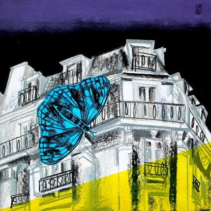 Olivier Anicet The night wraps 36 x 36 cm