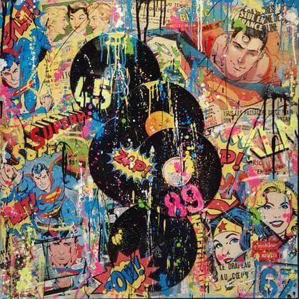 David Drioton Petite musique pour heros 100 x 100 cm