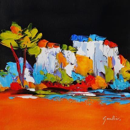 Dominique Gaultier Un soir en Provence 25 x 25 cm