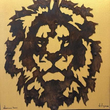 Nikola Vudrag Nemean Lion 1 80 x 80 cm