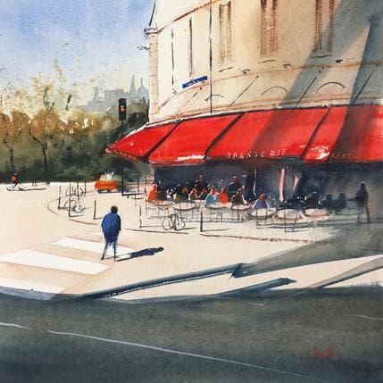 Jan Min Bordeaux, café 36 x 36 cm