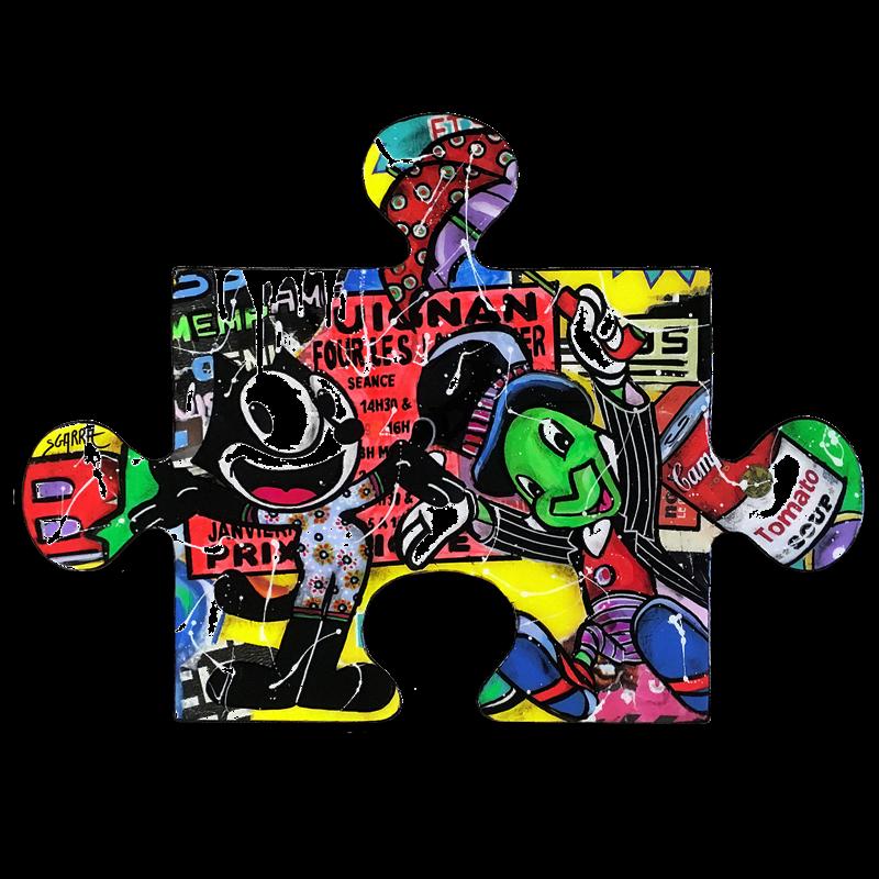Peintures technique mixte Pop Art Technique mixte</h2>
