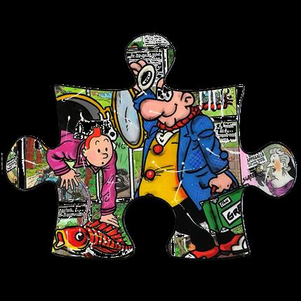 Sgarra Tintin & Milou, Castafiore 92 x 66 cm