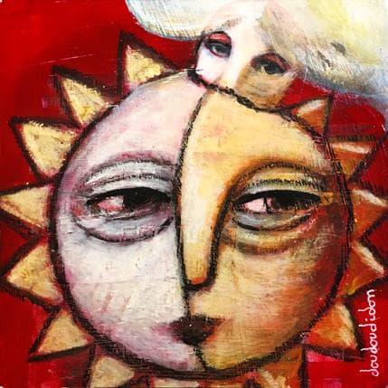 Doudoudidon Soleil heureux 13 x 13 cm