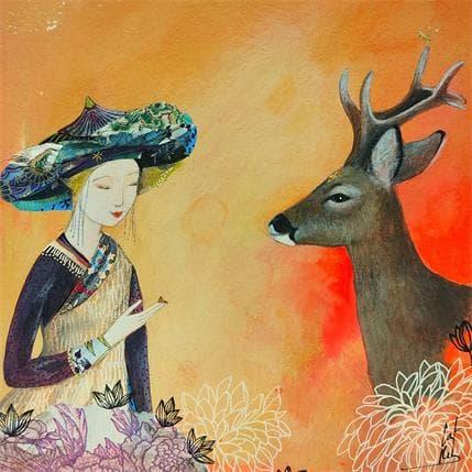 Catherine Rebeyre HARMONY 19 x 19 cm