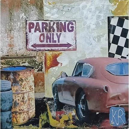 Karine Romanelli Parking only 2 13 x 13 cm