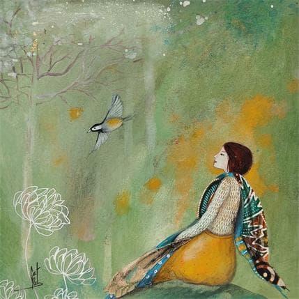 Catherine Rebeyre RENCONTRE EPHEMERE N°6 19 x 19 cm