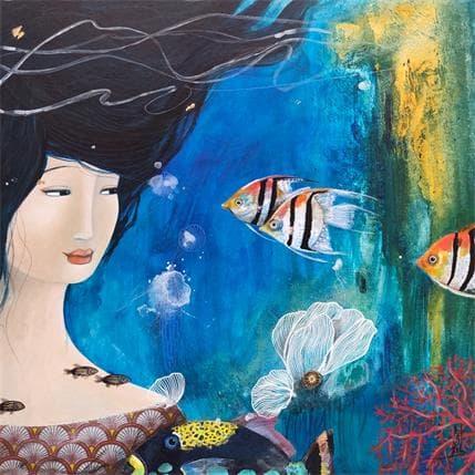 Catherine Rebeyre OCEANIS 36 x 36 cm