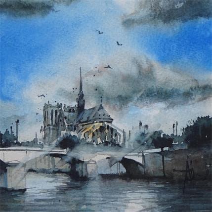 Abbatucci Violaine Paris…souvenir 13 x 13 cm