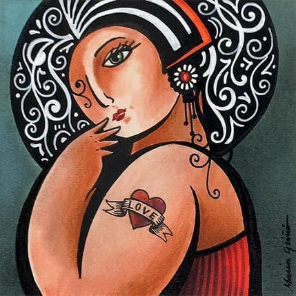 María Griñó Love tatoo 13 x 13 cm