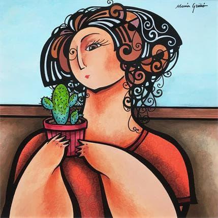 María Griñó Cactus 25 x 25 cm