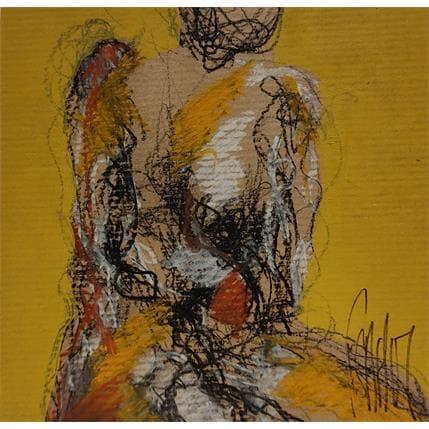 François Sahuc Laure 13 x 13 cm
