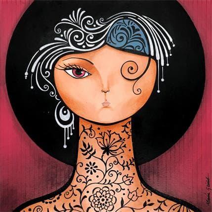 María Griñó Tatoo 2 25 x 25 cm