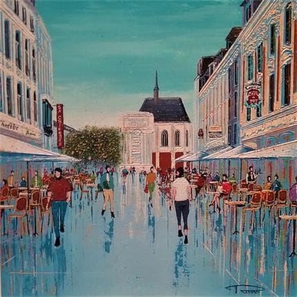 Rosso Palais Rihour 36 x 36 cm