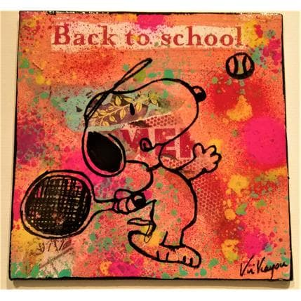 Kikayou Snoopy Tennis 13 x 13 cm