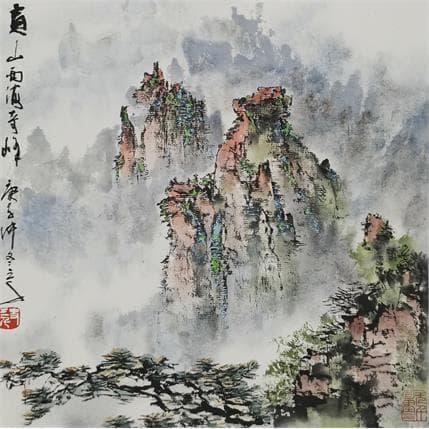 Sanqian Magnificence 25 x 25 cm