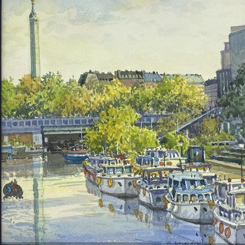 Paris le Port de l'Arsenal