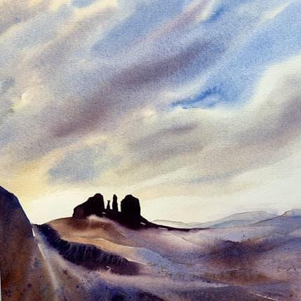 Isabelle Seruch Capouillez #41 36 x 36 cm