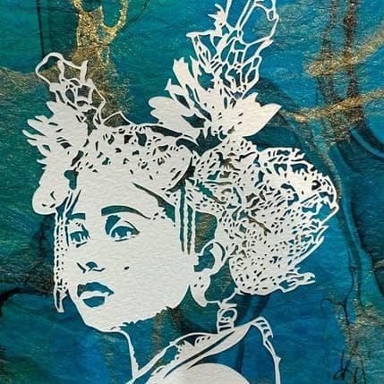 Valentine Louafi Balinese Sigh 13 x 13 cm