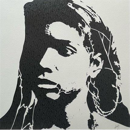 Valentine Louafi Algerian 25 x 25 cm